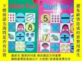 二手書博民逛書店英文原版書:Number罕見Fun 1.2 (PRIMARY M