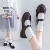 日系小皮鞋女英倫秋季學生學院風復古瑪麗珍鞋軟妹基礎款jk制服鞋 XN5072【優品良鋪】