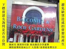 二手書博民逛書店BALCONES罕見& ROOF GARDENS陽臺和屋頂花園