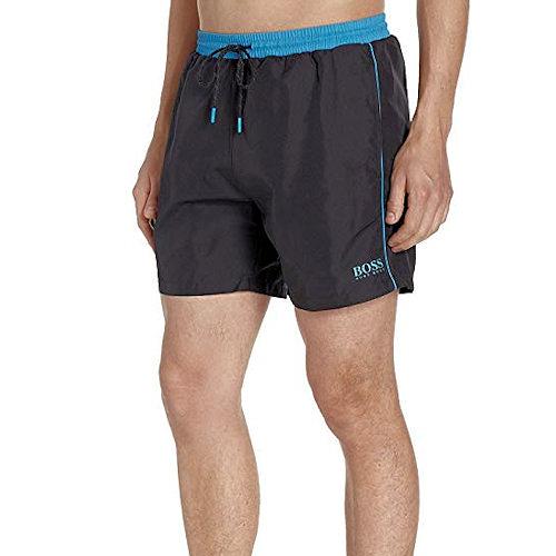 HUGO BOSS 男Starfish泳褲(黑色)