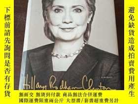 二手書博民逛書店Hillary罕見Rodham Clinton : HARD CHOICES(英文原版,艱難的選擇,內有大量照片)
