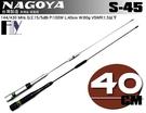 《飛翔無線》NAGOYA S-45 (台灣製造) 雙頻天線〔 全長40cm 重量80g 雙色可選 〕