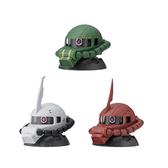 【BANDAI】萬代 扭蛋轉蛋 機動戰士鋼彈 EXCEED MODEL ZAKU HEAD 7 一組3入