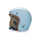 MODER安全帽,MORENDI,素/亮光淺水藍