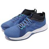 adidas 訓練鞋 CrazyTrain Pro 3.0 M 藍 白 襪套式 健身專用 男鞋 運動鞋【PUMP306】 AQ0413