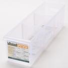 FINE 隔板整理盒 附輪 淺型款 5.2L LF1005 45x12.2x12.8cm