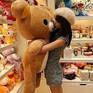 Rilakkuma 輕鬆小熊J 抱枕懶懶熊