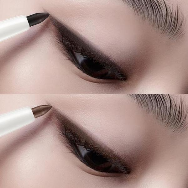 眼線液眼線筆防潑水防汗不脫色持久棕色鉛膠筆女防暈染網紅液筆推薦