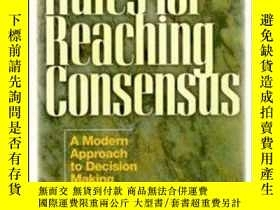 二手書博民逛書店Rules罕見for Reaching Consensus: A Modern Approach to Decis
