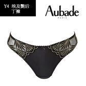 Aubade-埃及艷后金鏤丁褲(黑)Y4