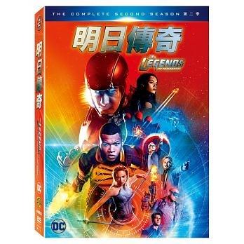 明日傳奇 第2季 DVD DC's Legends Of Tomorrow S2 免運 (購潮8)