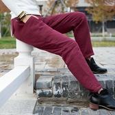 棉麻夾棉蘿卜褲復古棉褲女中國風寬松顯瘦暖暖褲外穿哈倫休閑褲冬