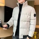 棉服男士秋冬季棉衣短款棉襖加厚羽絨外套【雲木雜貨】