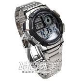 CASIO卡西歐 AE-1000WD-1A 世界地圖 世界時間 日期 計時碼表 電子錶 男錶 42mm AE-1000WD-1AVDF
