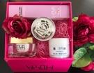 肌膚防疫保養必備 女星文汶親研 玫瑰玫瑰我愛你 胜肽金箔抗老保養禮盒