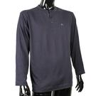 BURBERRY 紳士透氣排汗棉質上衣(深藍色)085204-2