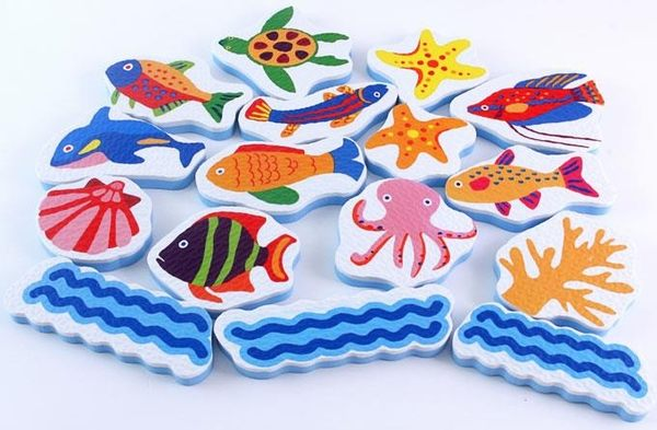 Food超人浴室貼貼樂 海洋世界 (OS小舖)