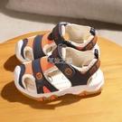 涼鞋 夏季新款寶寶機能涼鞋男童沙灘涼鞋女童學步涼鞋軟底兒童涼鞋