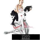 健身車 動感單車家用室內鍛煉健身車腳踏運動自行車房器材T