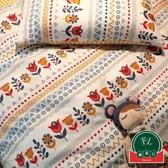 復古碎花純棉四件套床單被套公主風床上用品【福喜行】