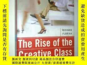 二手書博民逛書店THE罕見RISE OF THE CREATIVE CIASS(