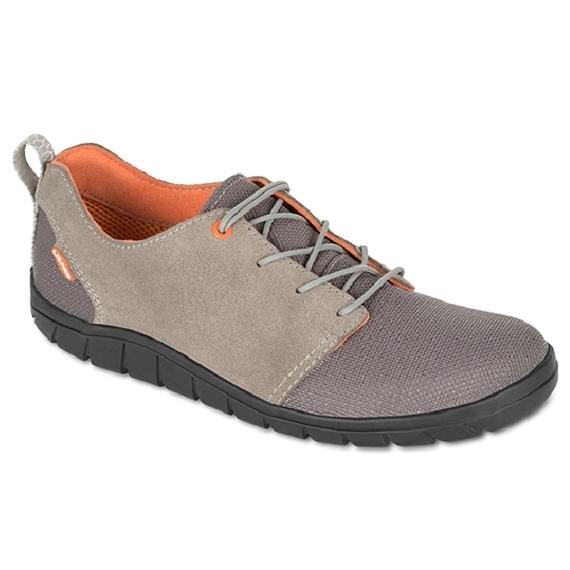 Lizard 凱克 黃金底耐磨休閒鞋 LI12054 FO象牙灰 義大利製 真皮 CORDURA 輕量 時尚 日常 都會【易遨遊】