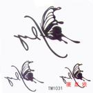 薇嘉雅       蝴蝶 超炫圖案紋身貼紙 TM1031