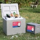 冰桶 外賣保溫箱商用保溫桶啤酒箱儲冰桶食堂飯盒送餐箱車載戶外保鮮箱 洛小仙女鞋YJT