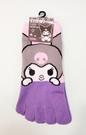 【震撼精品百貨】酷洛米_Kuromi~酷洛米五指短襪-紫#19894