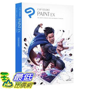 [8美國直購] 暢銷軟體 CLIP STUDIO PAINT EX - NEW Branding - for Microsoft Windows and MacOS