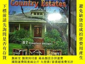 二手書博民逛書店COUNTRY罕見ESTATES HOME PLANS 鄉村地產