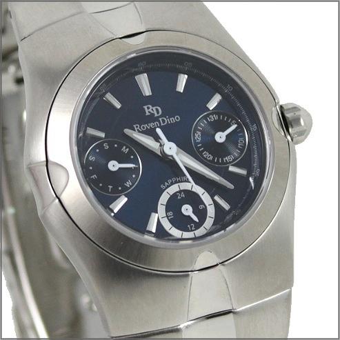 【萬年鐘錶】 Roven Dino 羅梵迪諾 楊丞琳代言 三眼藍小 RD9802