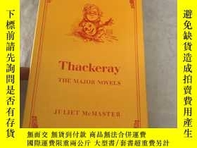 二手書博民逛書店Thackeray罕見the major novels(182)
