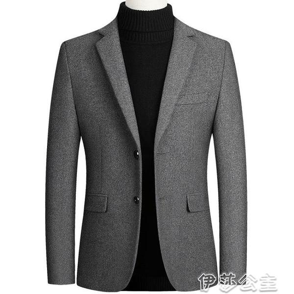 西裝男 三弦男裝2020秋冬季男士西服羊外套小西裝休閒單西服男 交換禮物