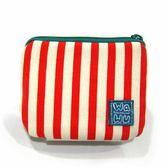 小零錢包 /紅白條紋【WaWu】