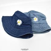 漁夫帽 自然風雛菊丹寧休閒NHD53