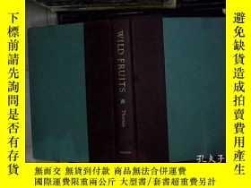 二手書博民逛書店WILD罕見FRUITS 野果Y180897