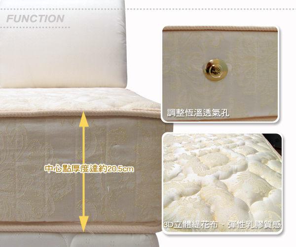 床墊【UHO】 維多利雅* 硬式*5尺雙人乳膠床墊/舒適透氣不悶熱/ 擺脫您腰酸背痛的困擾/免運費