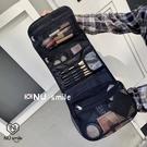 韓國簡約化妝包網紅大容量化妝品便攜手提收納包多功能旅行洗漱包 全館免運