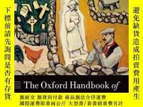二手書博民逛書店The罕見Oxford Handbook Of Modern Irish HistoryY364682 Alv
