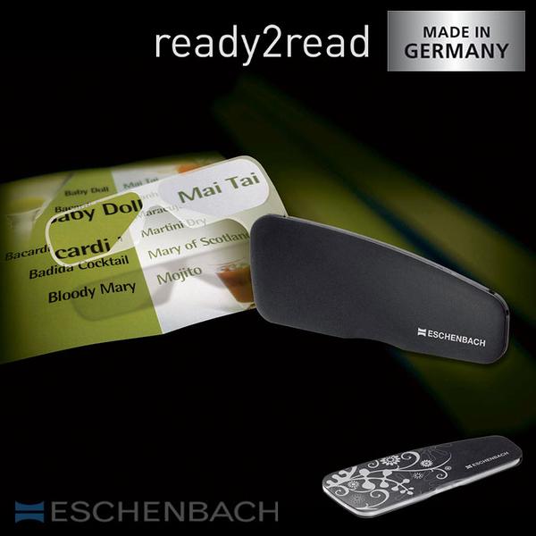 【德國 Eschenbach 宜視寶】ready2read 德國製手持式隨身型老花眼鏡 (共四色、兩種度數)