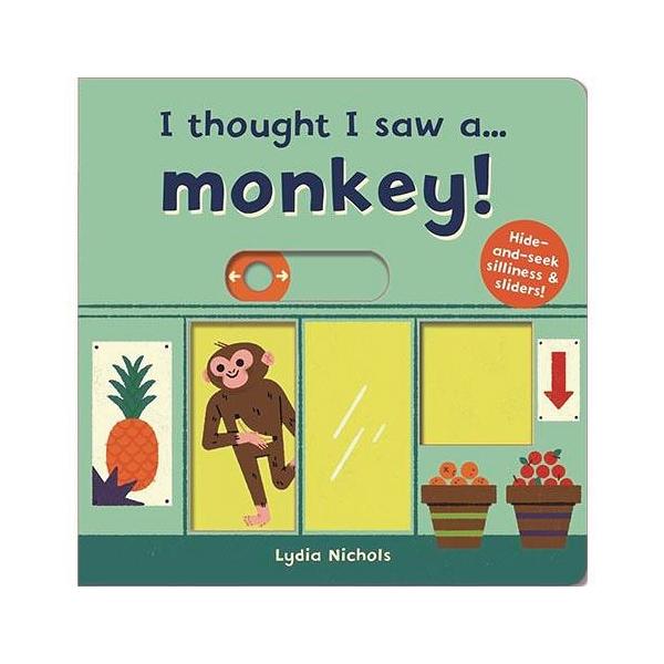 I Thought I Saw A...Monkey! 猴子玩捉迷藏 硬頁操作書