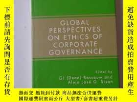 二手書博民逛書店GLOBAL罕見PER SPECTIVES ON ETHICS