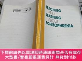 二手書博民逛書店teaching罕見and learning about schizophreniaY195942 teach