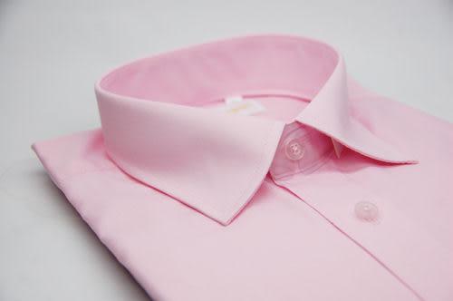 【金‧安德森】粉紅色長袖襯衫