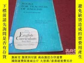 二手書博民逛書店books罕見for teachers of english 【英文版,館藏】Y23728