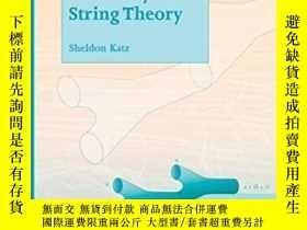 二手書博民逛書店Enumerative罕見Geometry And String Theory-枚舉幾何與弦理論Y436638