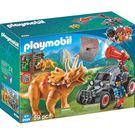 playmobil 三角龍與恐龍販子_PM09434