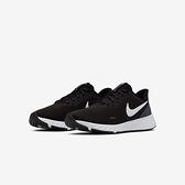 NIKE慢跑鞋 REVOLUTION 5 女款黑白色運動款 BQ3207002