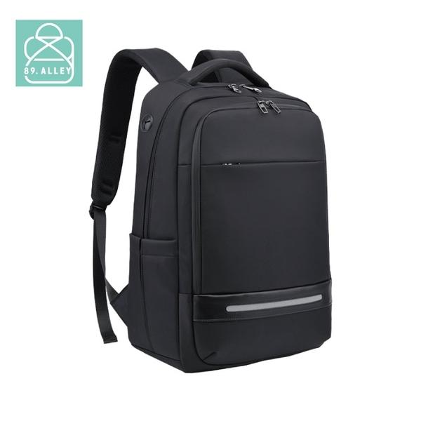 後背包 防水面料潮流商務USB款雙層筆電後背包 男包 89.Alley-HB89413